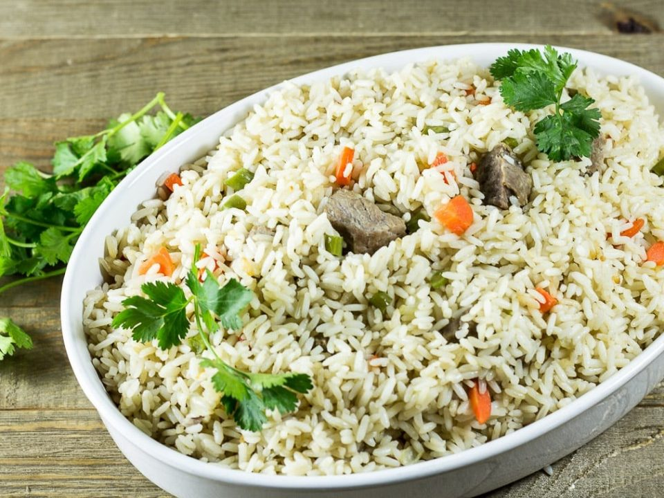 How To Prepare Coconut Rice