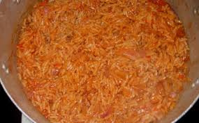 cooked jollof rice