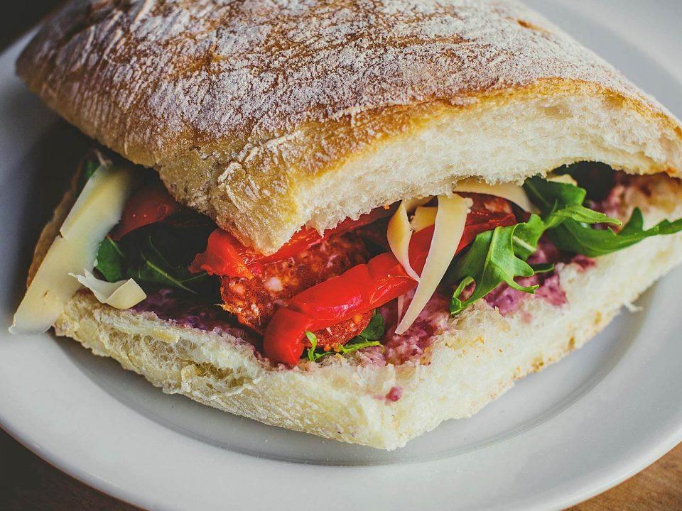 Nigerian Sandwich