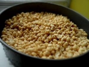 peeled beans
