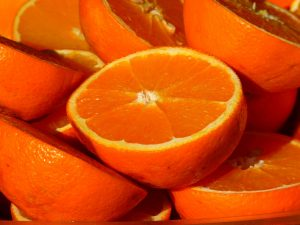 oranges have vitamin C that that help you cope with stress